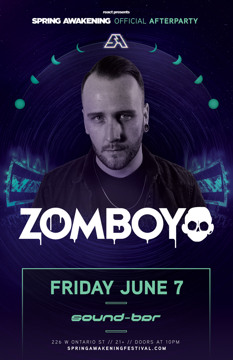 Sound-Bar SAMF Official Afterparty – Zomboy
